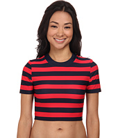 DKNY - Crop Scuba Shirt Cover-Up