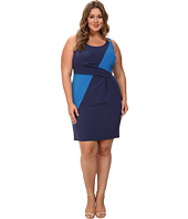 Mynt 1792 - Plus Size Box Pleat Sheath Dress