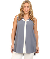 Mynt 1792 - Plus Size Color Block Tunic