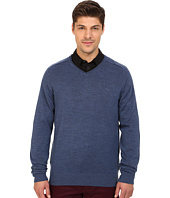 Rodd & Gunn - Burwood Merino High V-Neck Merino Knit