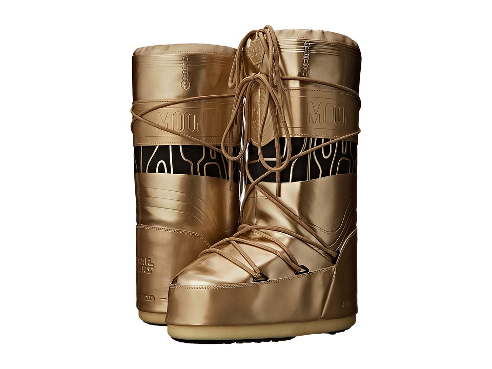 Tecnica - Moon Boot - Star Wars C-3PO (Gold/Black) Work Boots