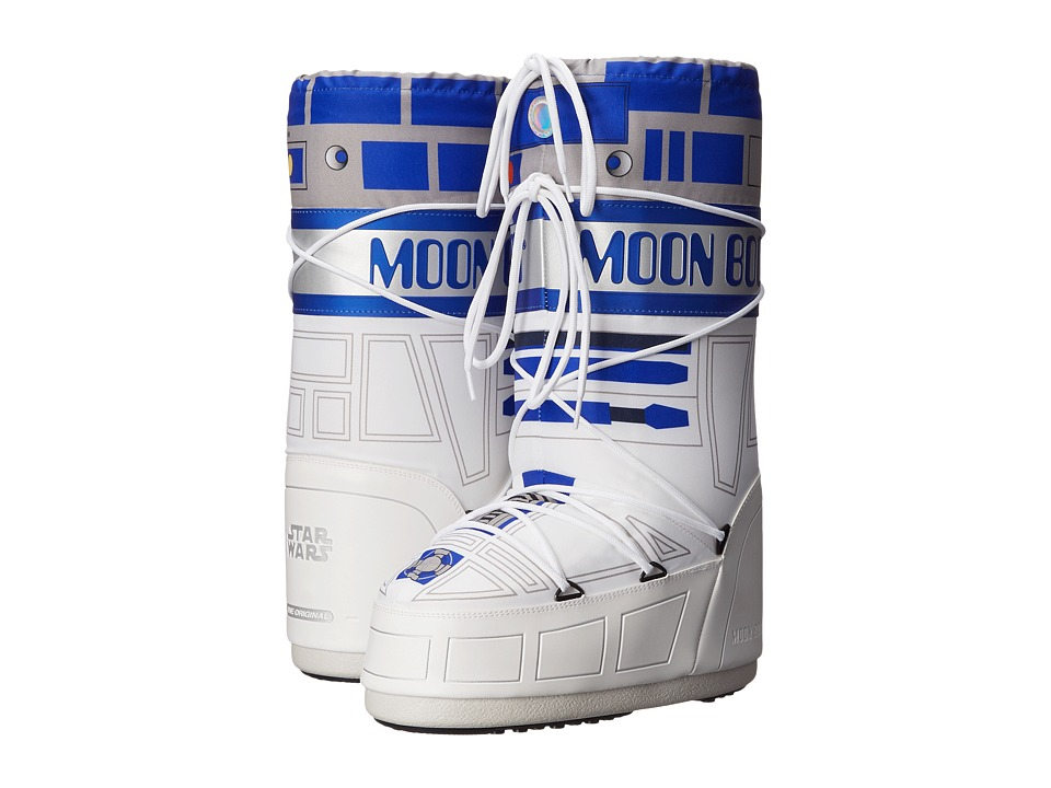 Tecnica - Moon Boot - Star Wars R2-D2 (White/Blue/Silver) Work Boots