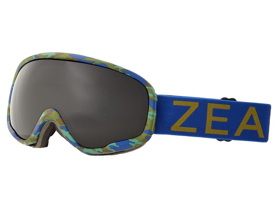 Zeal Optics Forecast (Marine Camo/Dark Grey Polarized Lens) Goggles