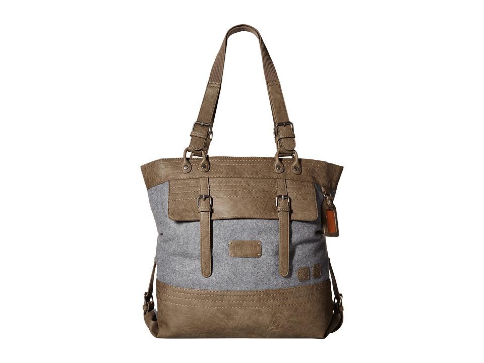 Sherpani - Nola (Wool) Tote Handbags