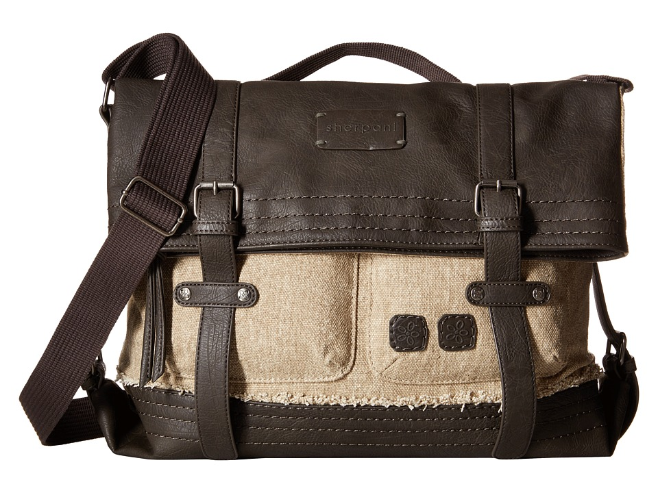 Sherpani - Petra Messenger (French Roast/Canvas) Messenger Bags