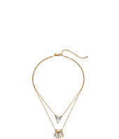 Alexis Bittar - Double Fringe Pendant Necklace