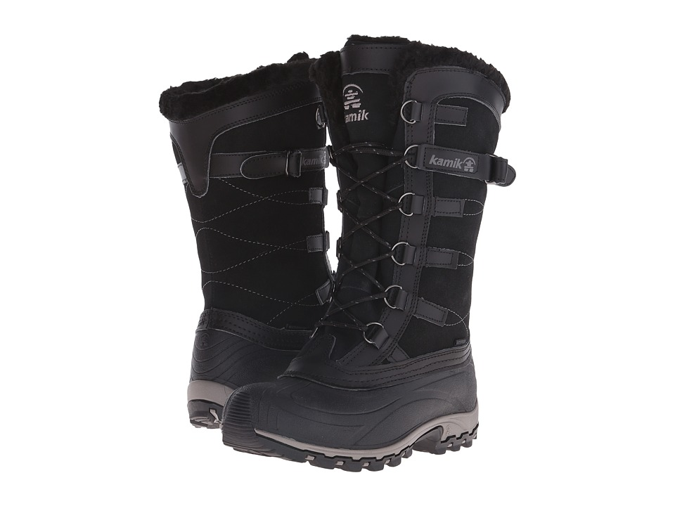 Kamik Citadel Black Womens Work Boots