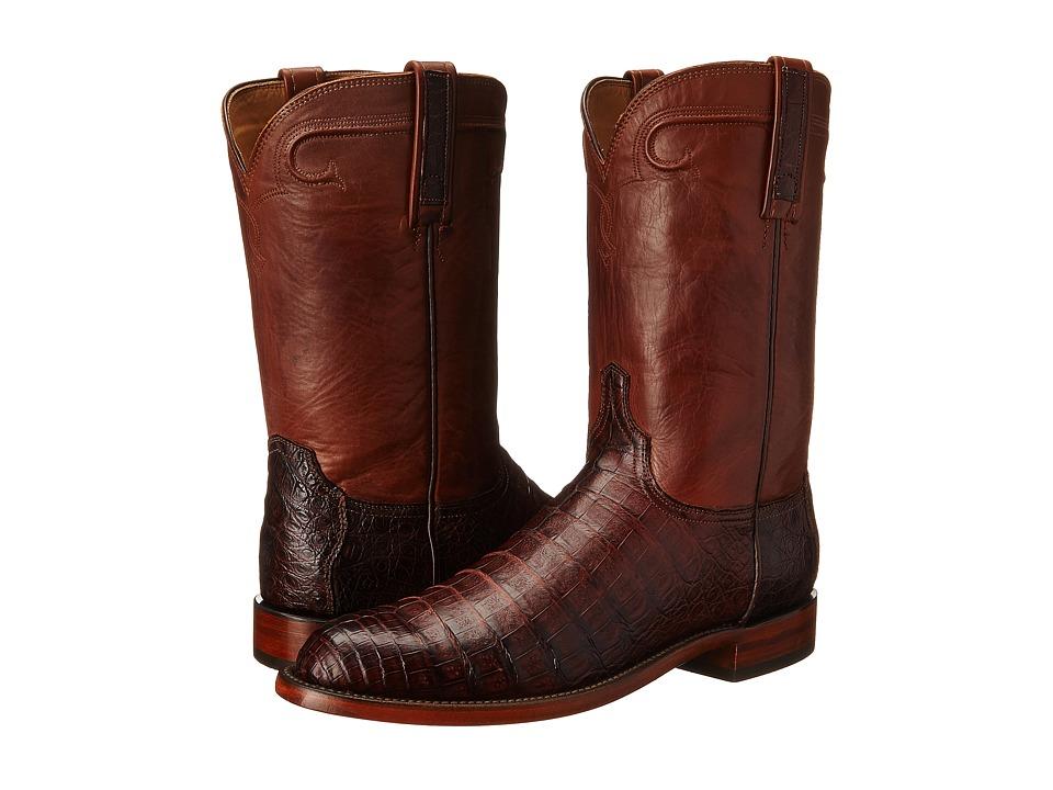 Waller (Barrel Brown) Cowboy Boots