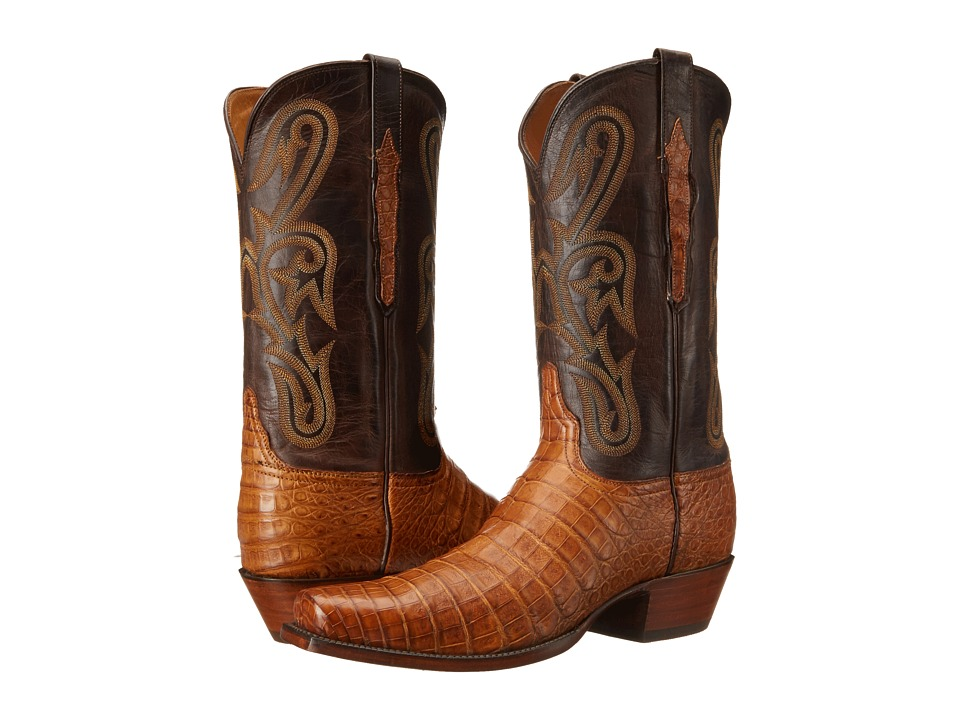Lucchese L1456.74 (Old Gold) Cowboy Boots