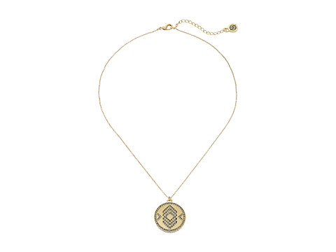 House of Harlow 1960 Andes Reversible Coin Necklace - Silver