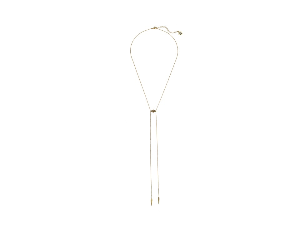 House of Harlow 1960 - Sama Bolo Tie Necklace (Gold) Necklace