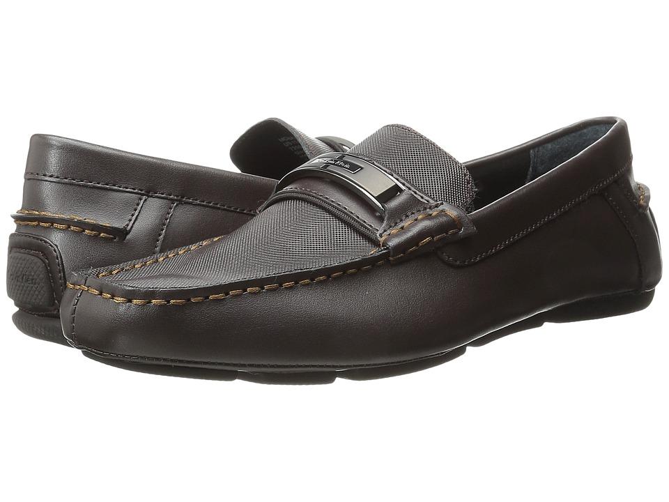 Calvin Klein - Mchale (Dark Brown Diamond Leather) Men