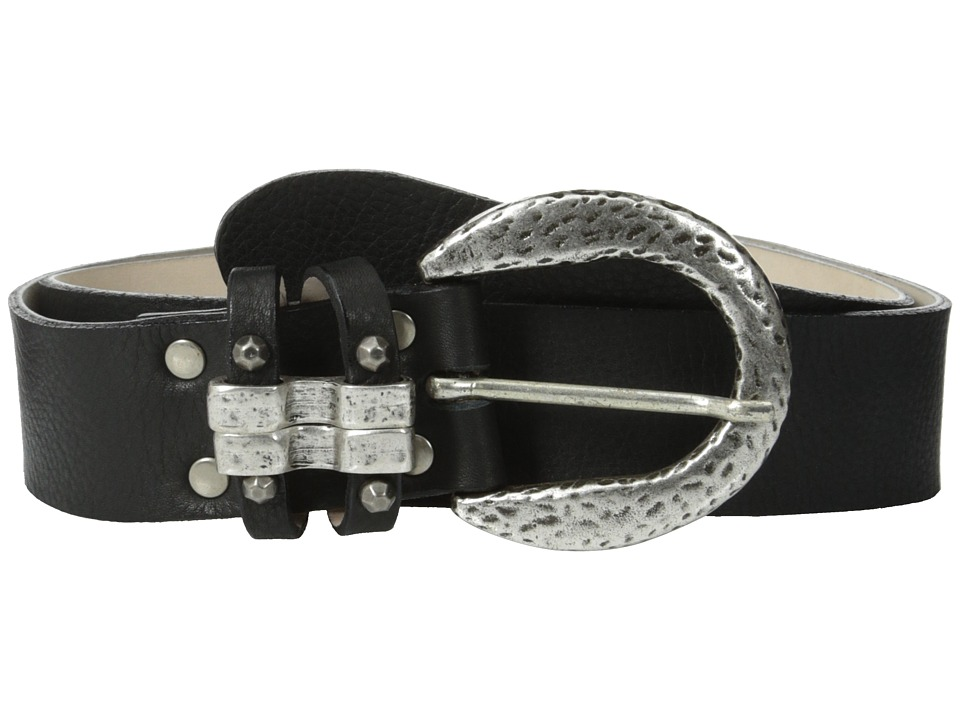 Leatherock 1239 Black Womens Belts