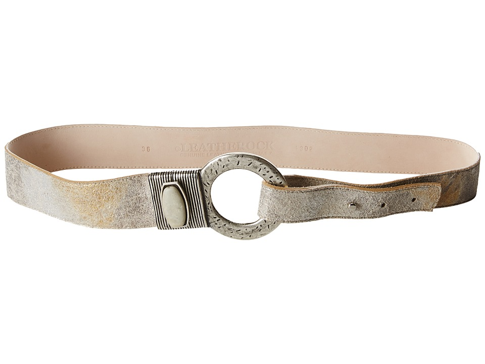 Leatherock 1302 Silver Gold Womens Belts
