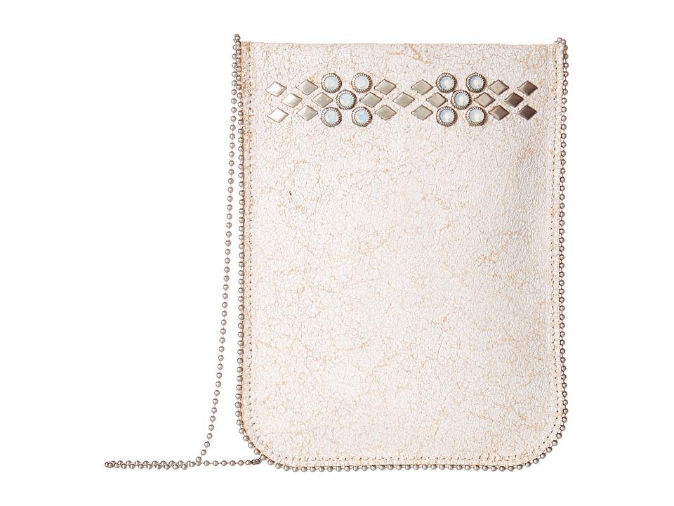 Leatherock - CE07 (White) Cross Body Handbags