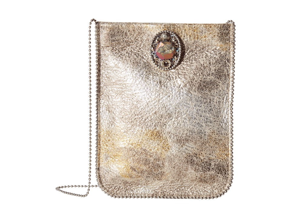 Leatherock - CE09 (Silver/Gold) Cross Body Handbags