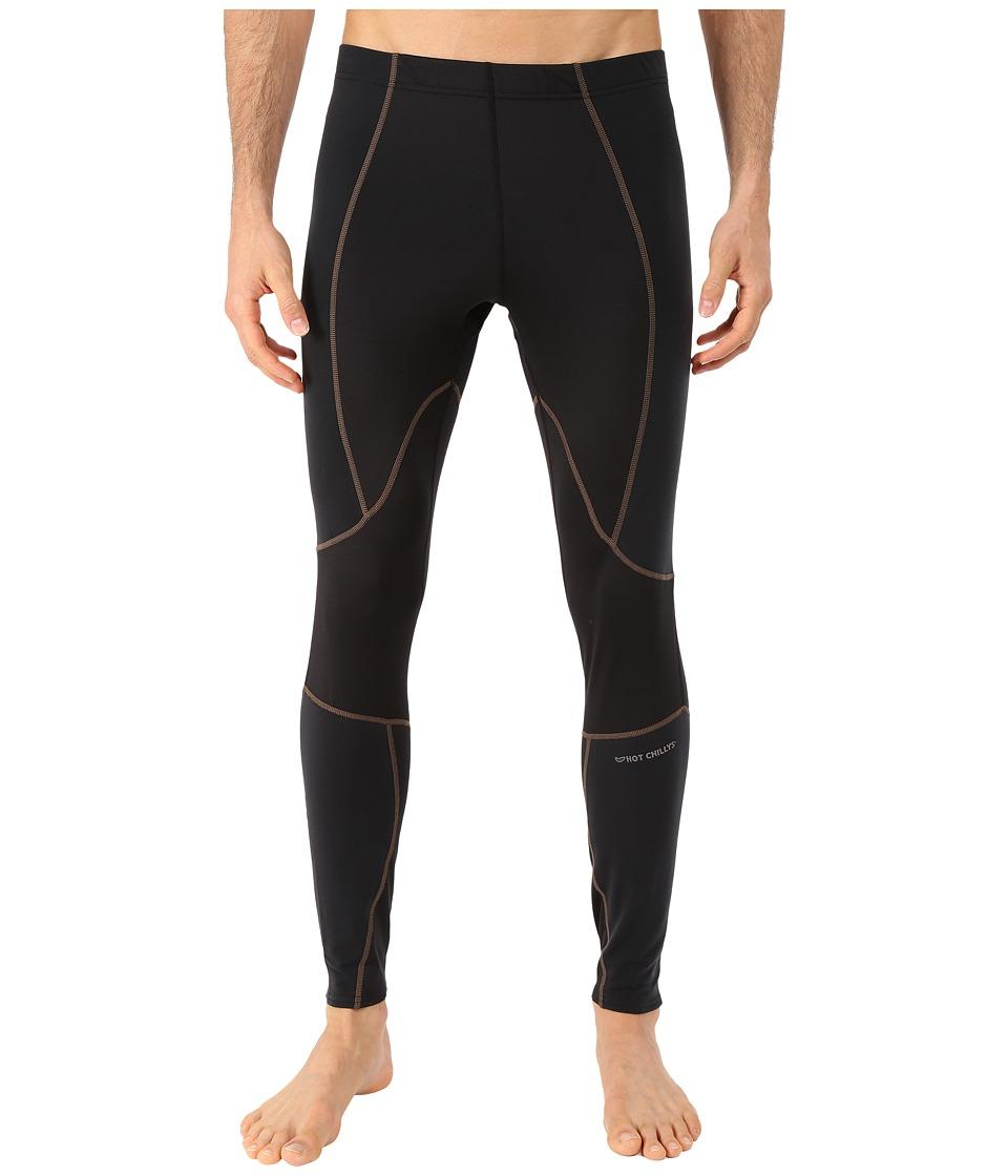 Hot Chillys F9 Endurance 8K Tights Black/Black Mens Casual Pants