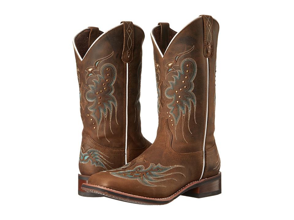 Laredo Sadie (Dark Tan) Cowboy Boots