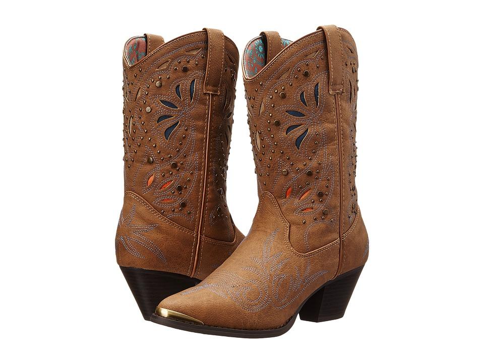 Dingo - Annabelle (Dark Tan) Cowboy Boots