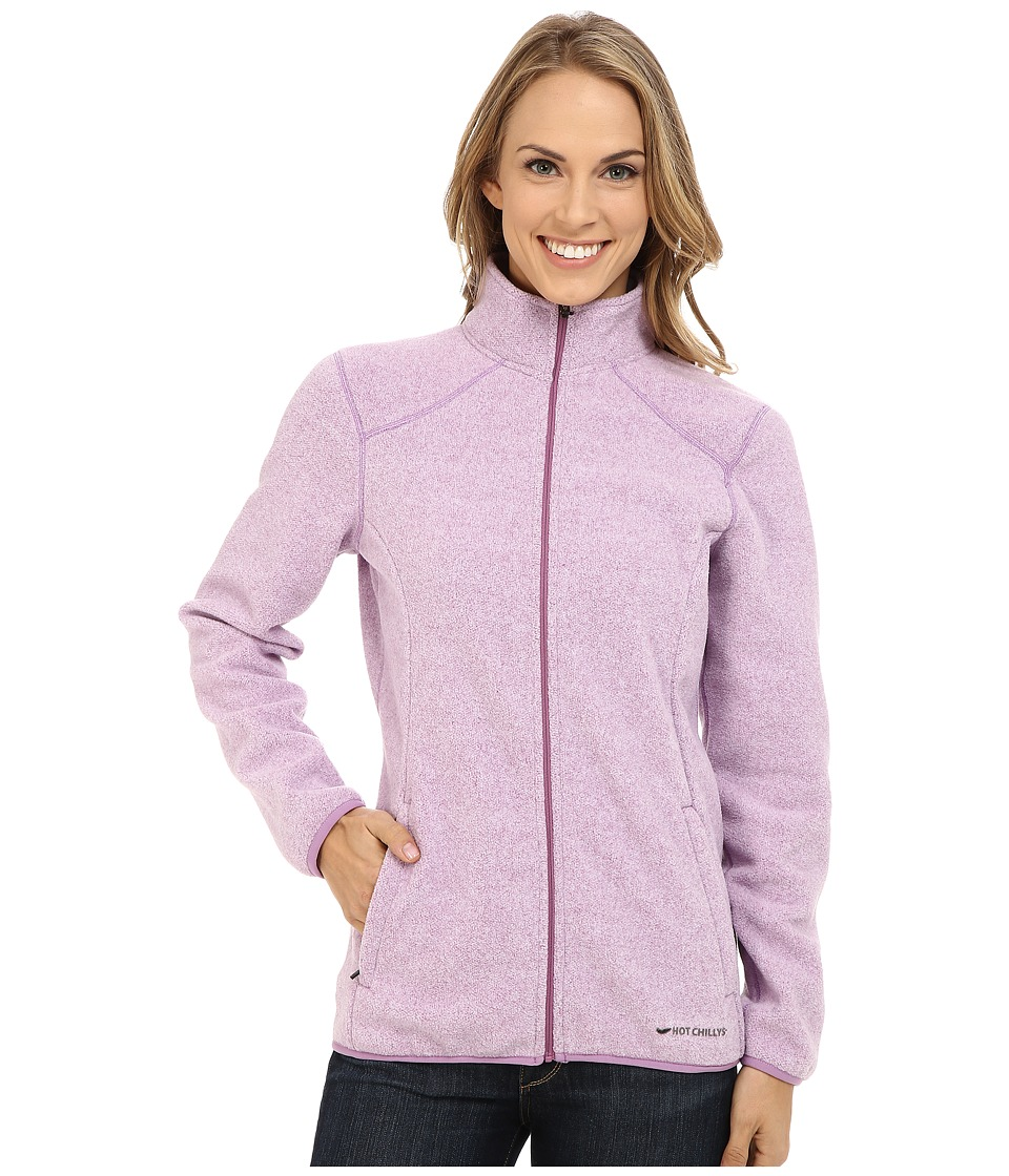 Hot Chillys Baja Zip Jacket w/ Binding Candyland Womens Coat