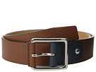 Cole Haan 35mm Flat Stitch Strap Pebble Leather Pop Color Tab