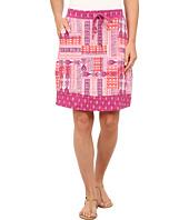 Mod-o-doc - Aztec Patchwork Printed Slub Jersey Mixed Print Skirt