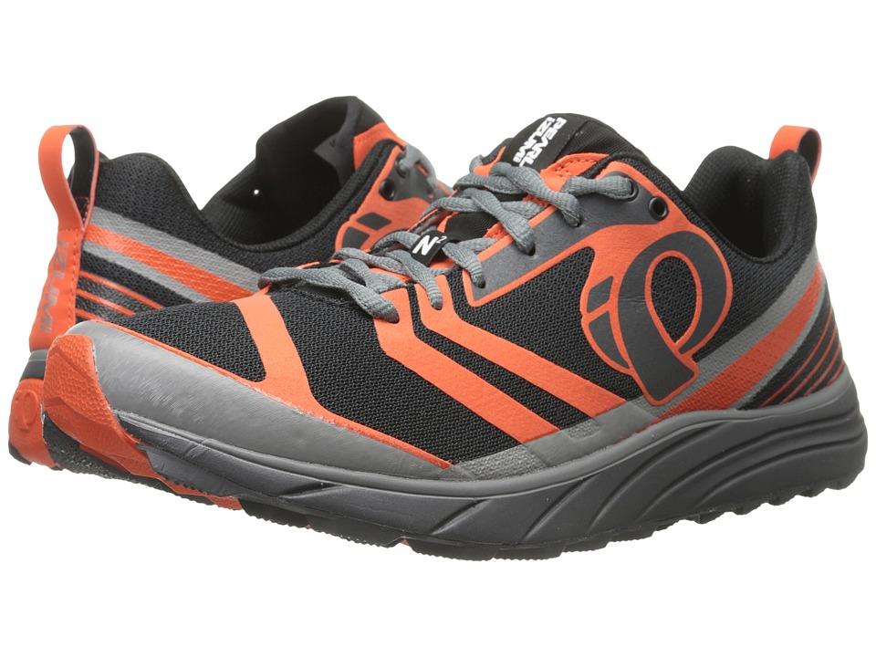 Pearl Izumi - EM Trail N 2 v2 (Shadow Grey/Spicy Orange) Mens Running Shoes