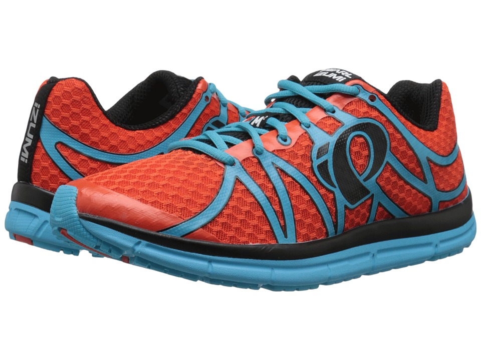 Pearl Izumi EM Road M 2 v2 Spicy Orange/Blue Atoll Mens Running Shoes