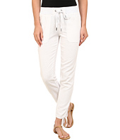Mod-o-doc - Linen Rayon Ankle Tie Pull-On Pants