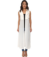 Brigitte Bailey - Addison Sleeveless Chiffon Maxi Vest