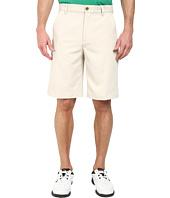 IZOD - Flat Front Microfiber Golf Shorts