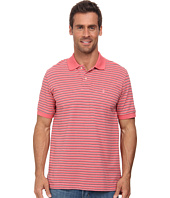 IZOD - Short Sleeve Feeder Stripe Pique Polo