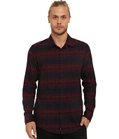 Publish - Levon Novelty Flannel Long Sleeve Button Up