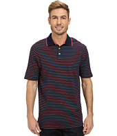 IZOD - Short Sleeve Interlock Stripe Polo