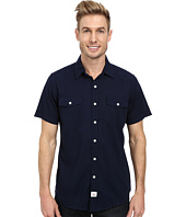 IZOD - Short Sleeve Solid Seaside Poplin Shirt