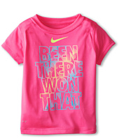 Nike Kids - Lightweight Dri-Fit GFX Short Sleeve Top Been There Won That (Toddler)