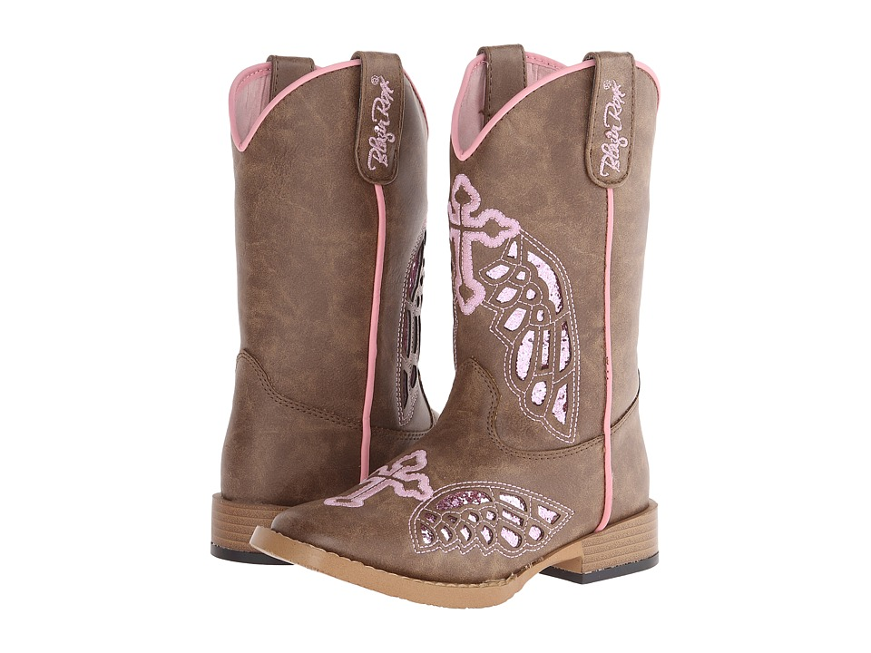 Blazin Roxx Gracie (Little Kid) (Brown) Cowboy Boots