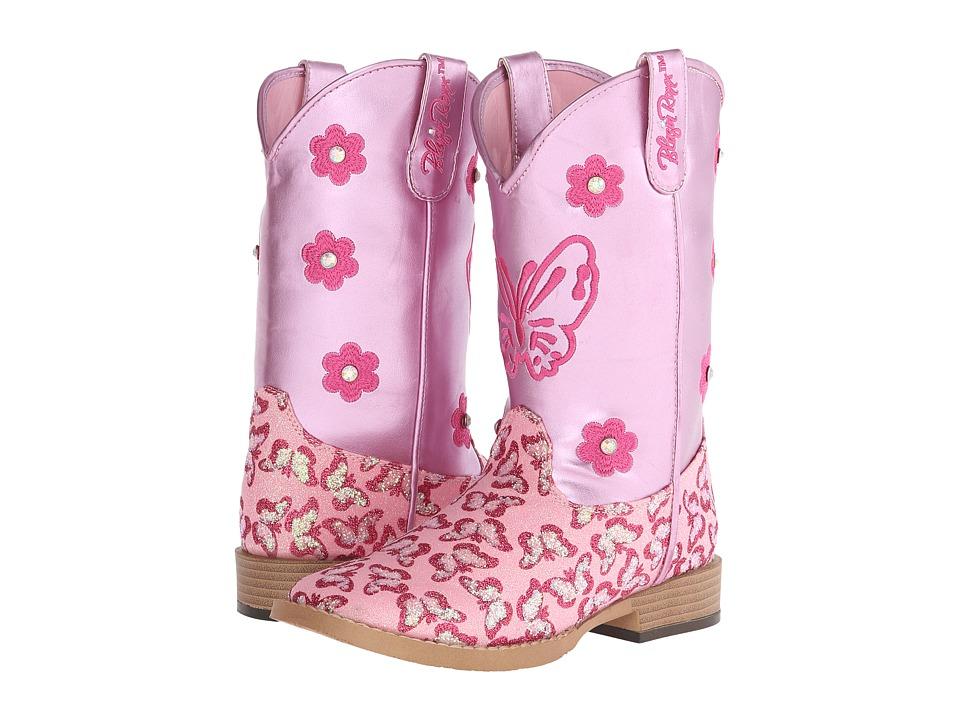 Blazin Roxx Pecos (Little Kid) (Pink) Cowboy Boots