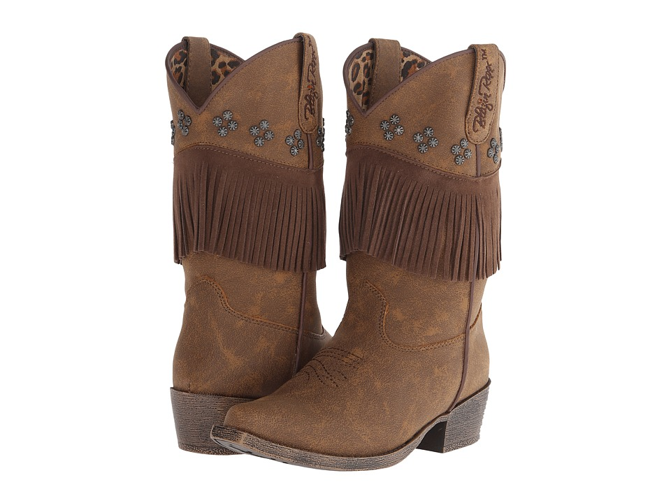 Blazin Roxx Annabelle (Little Kid) (Brown) Cowboy Boots