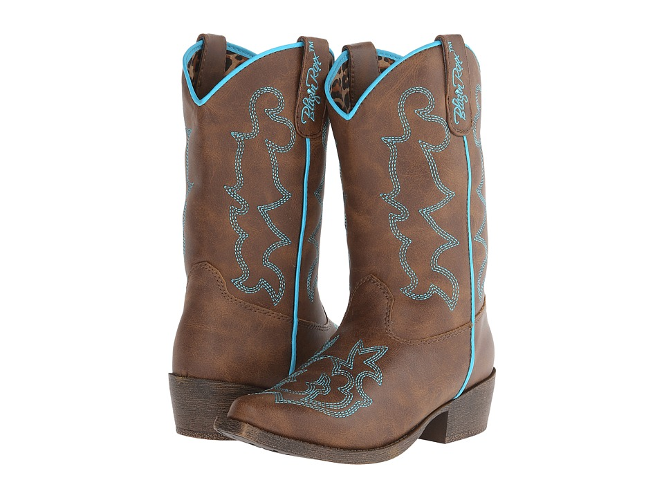 Blazin Roxx Caroline (Little Kid) (Brown) Cowboy Boots