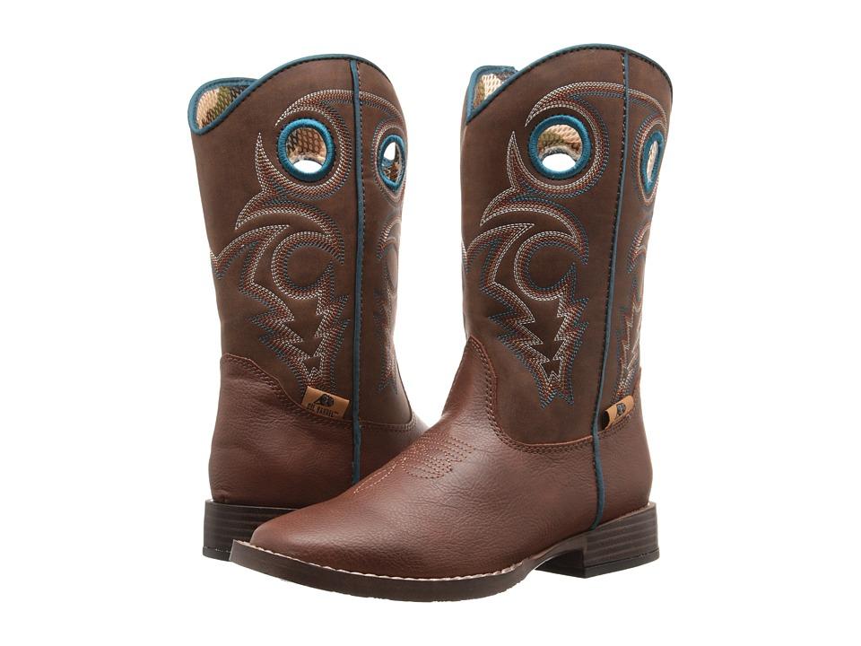 Blazin Roxx Dylan (Little Kid) (Brown) Cowboy Boots