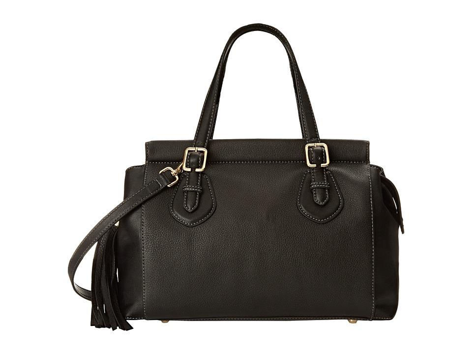 Nine West City Chic Medium Tess Black/Black Handbags