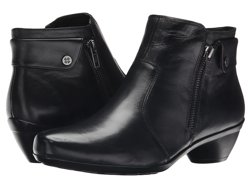 Naturalizer - Haley (Black Leather) Women