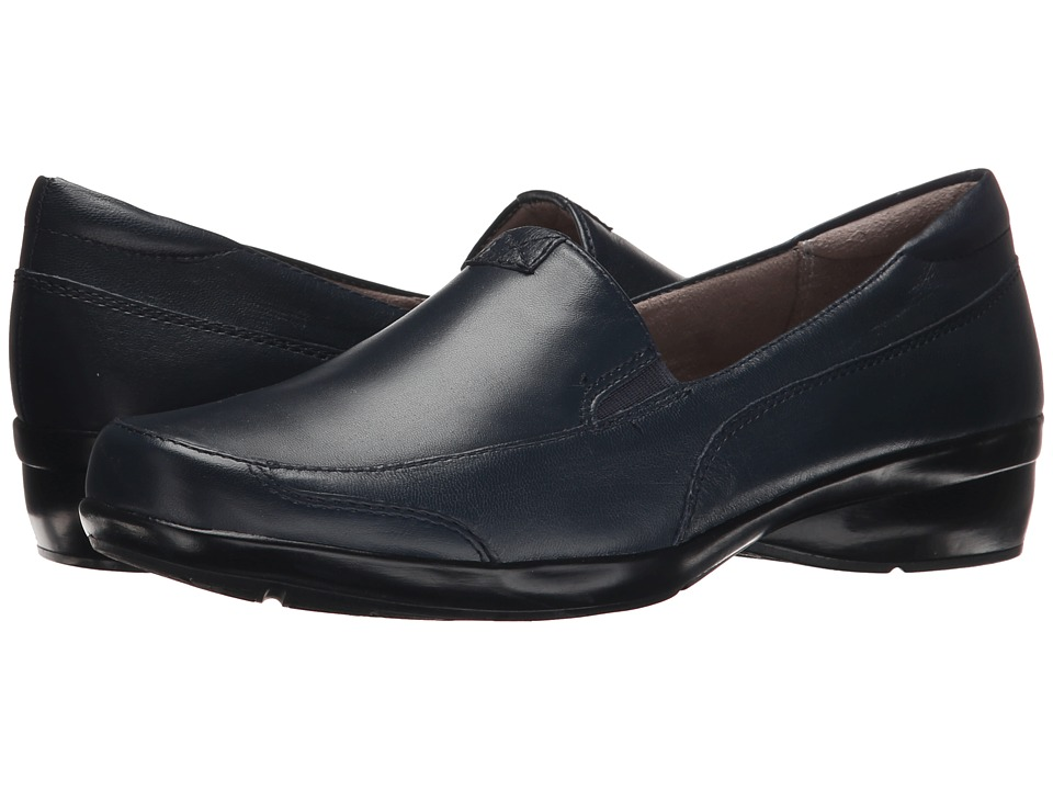 Naturalizer Channing (Classic Navy Leather) Slip-On Shoes