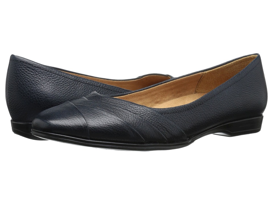 Naturalizer - Jaye (Classic Navy Leather) Women