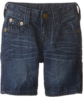 True Religion Kids - Single End Shorts (Little Kids)