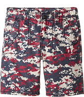 True Religion Kids - Blocked Camo Shorts (Little Kids)
