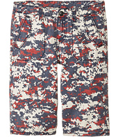 True Religion Kids - Blocked Camo Shorts (Big Kids)