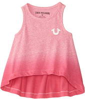 True Religion Kids - Glitter Puff Tank Top (Toddler)