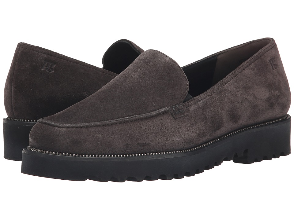 Paul Green Ariana Anthracite Suede Womens Slip on Shoes